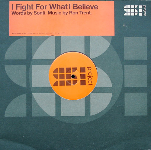 Ron Trent Feat. Sonti - I Fight For What I Believe