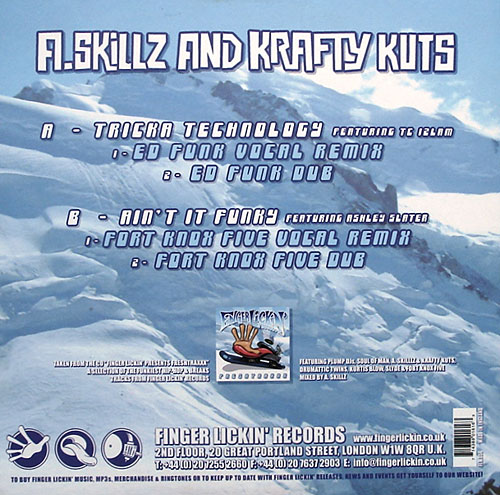 A. Skillz And Krafty Kuts - Freshtraxxx
