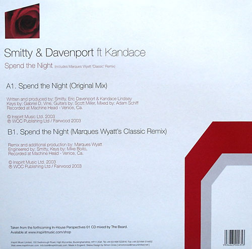 Smitty & Davenport - Spend The Night