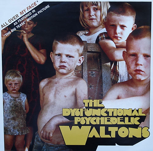 The Dysfunctional Psychedelic Waltons - All Over My Face